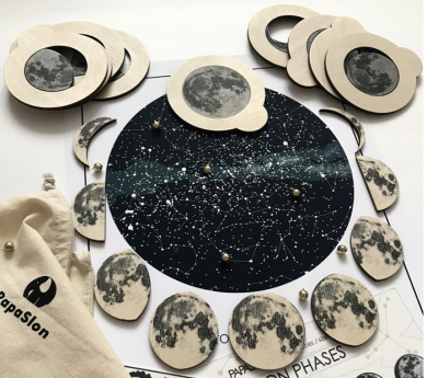 Juego de las fases de la luna