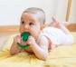 Mossegador i joguina rodona de cautxú natural