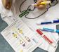 Kit para colorear una camiseta de los órganos del cuerpo humano
