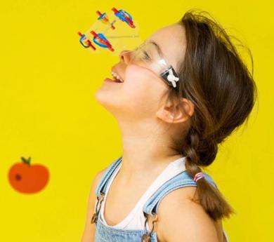 Kit para montar gafas con visión de 4 animales