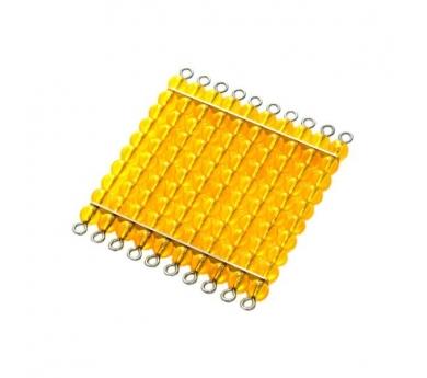 Perlas Doradas - 45 placas de 100