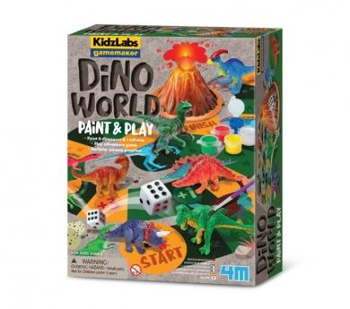 Joc de taula, manualitat i experiment Dinosaures