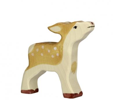 Figura de fusta Holztiger - Cervatell