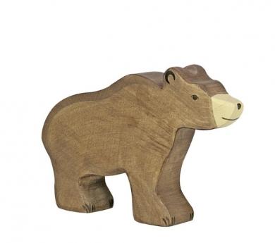 Figura de madera Holztiger - Oso pardo