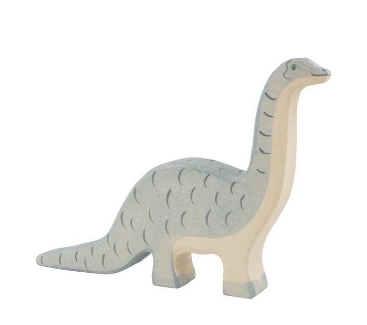 Figura de fusta Holztiger - Brontosaure