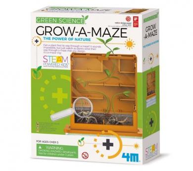 Laberinto de cultivo Grow a Maze - Kidzlabs