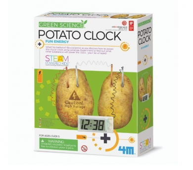 Reloj de patata Green Science