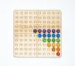 Taulell perforat del 100 amb divisions