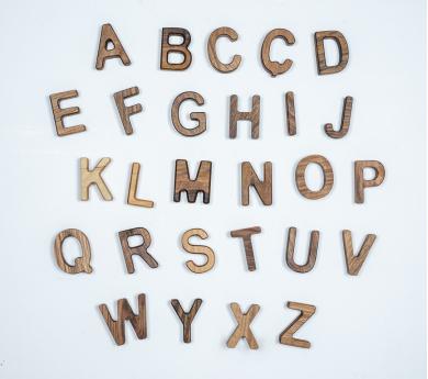 Puzle abecedari lletres minúscules en castellà