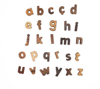 Alfabeto completo minúsculas en catalán