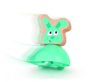 Conejo con inercia
