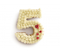 Molde de silicona para pasteles Nº5