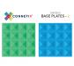 Connetix vehículos - pack de 2 placas base