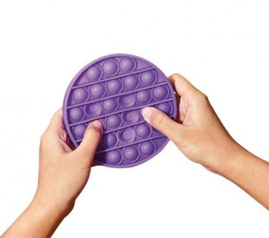 Joguina sensorial disc de bombolles de silicona