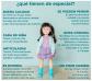 Vestido de pintora CHLOE para las muñecas Kruseling