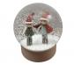 Bola de nieve con elfos