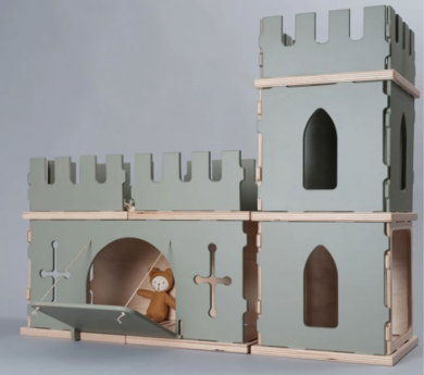 Complemento FORTALEZA para juego de construcción