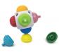Joc de construcció amb peces sensorials i cub - 9 pz