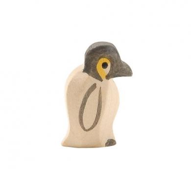 Figura de madera Ostheimer - Cría de pingüino