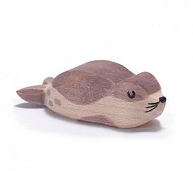 Figura de fusta Ostheimer - Cria de lleó marí