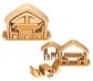 Caseta de fusta compacta