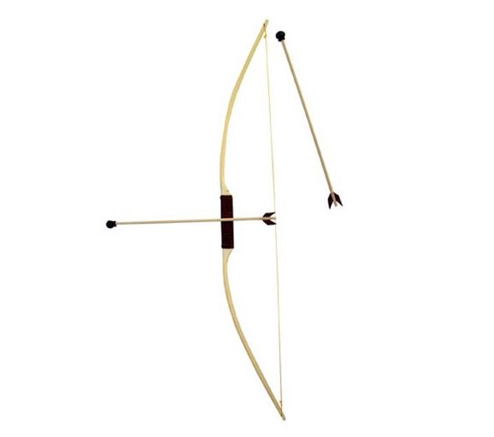 Arco de madera infantil de tiro