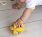 Pelota Montessori topos verdes