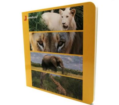 Llibre d'imatges ELS ANIMALS SALVATGES