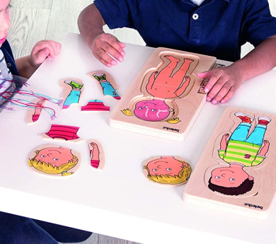 Puzle 5 a 1- Anatomia humana