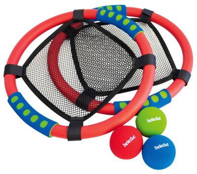 Juego de raquetas-trampolín NET BALL