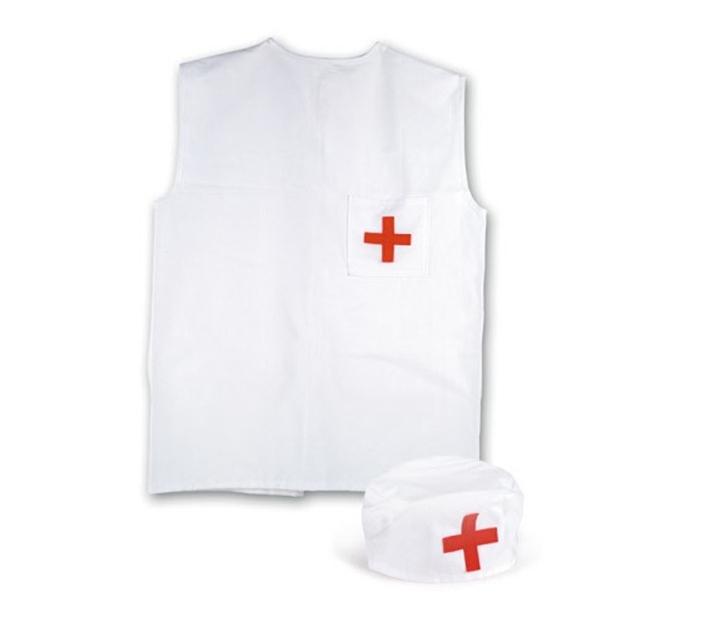 Delantal y Cofia de Enfermero(a)