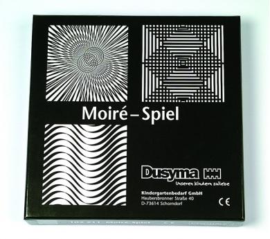 Juego de Ilusiones ópticas Moiré.