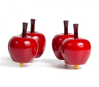 Peonza manzana