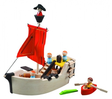 Vaixell Pirata de Fusta