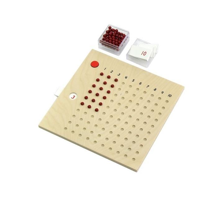 Tablero de perlas para Multiplicar