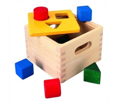 Caixa de formes per encaixar