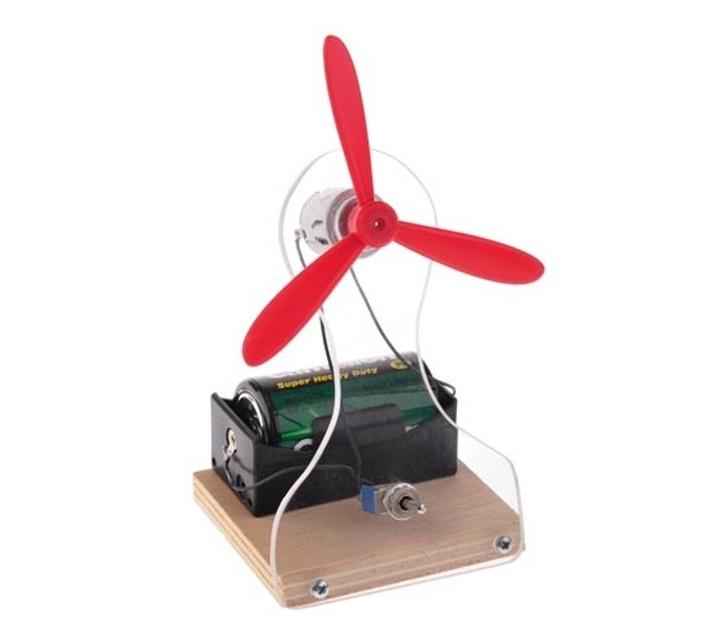 Construye un ventilador