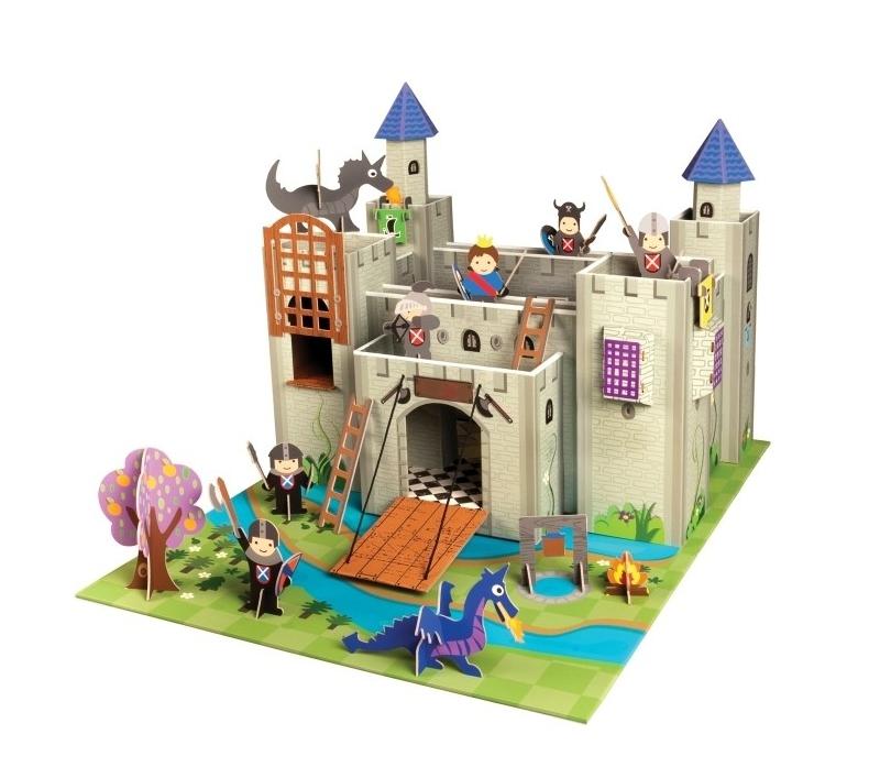 Castillo Con Personajes Y Complementos