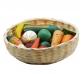 Panera con frutas y hortalizas
