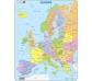 Mapa Puzzle de Europa – división política