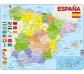 Mapa Puzle d'Espanya– Polític