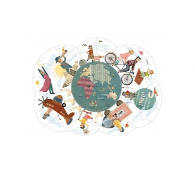 Puzzle la vuelta al mundo
