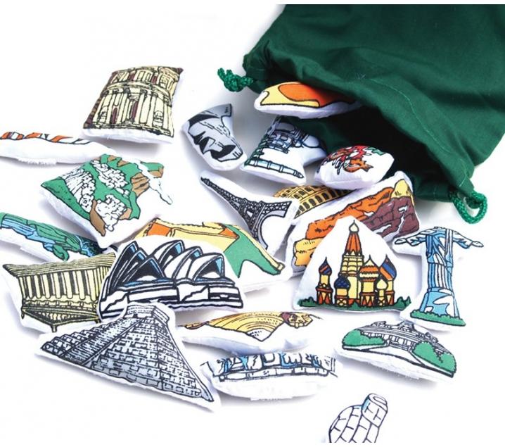 Monuments del món de roba