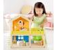 Casita de muñecas con muebles
