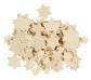 Estrellas de madera para manualidades y decoraciones