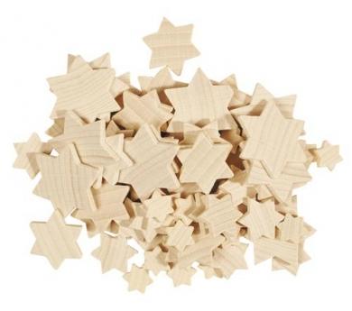 Estrelles de fusta per manualitats i decoracions