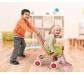 Cochecito de madera para muñecas