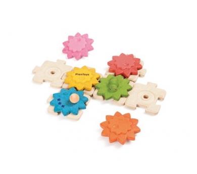 Engranajes y puzzle