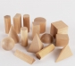 Sòlids geomètrics de fusta