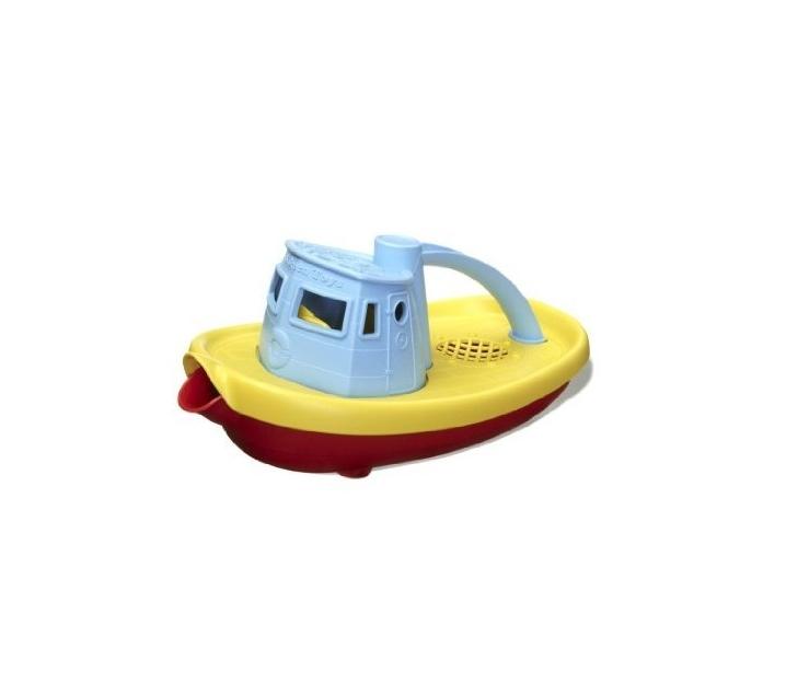 Barco remolcador de juguete